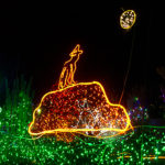 zoolights howling wolf