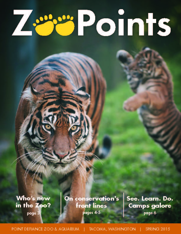 ZooPoints Spring 15 newsletter