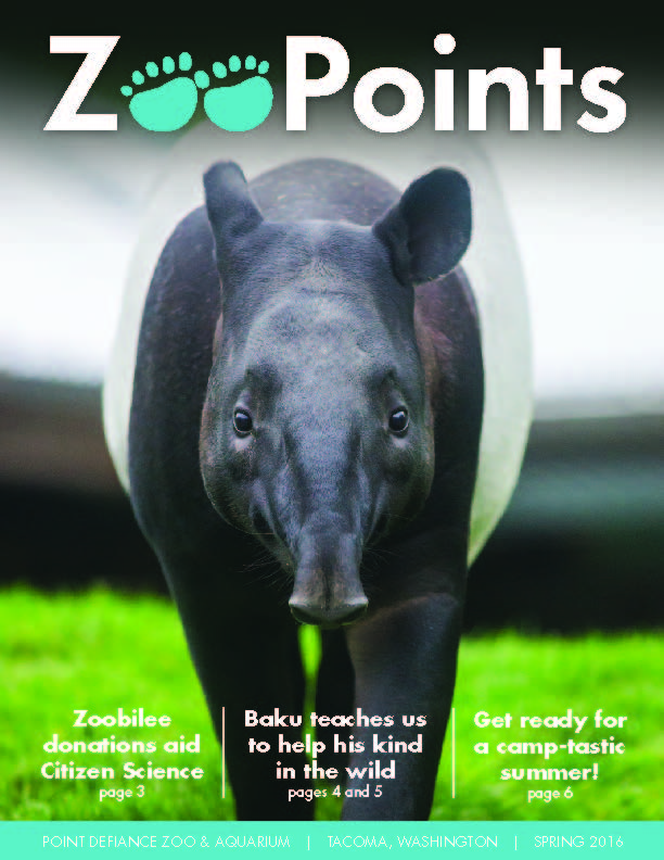 ZooPoints Spring 16 newsletter