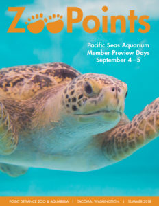 ZooPoints Summer 2018 newsletter