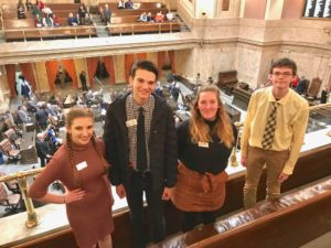 Teens at the Olympia Capitol