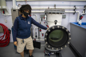 aquarist and recompression chamber